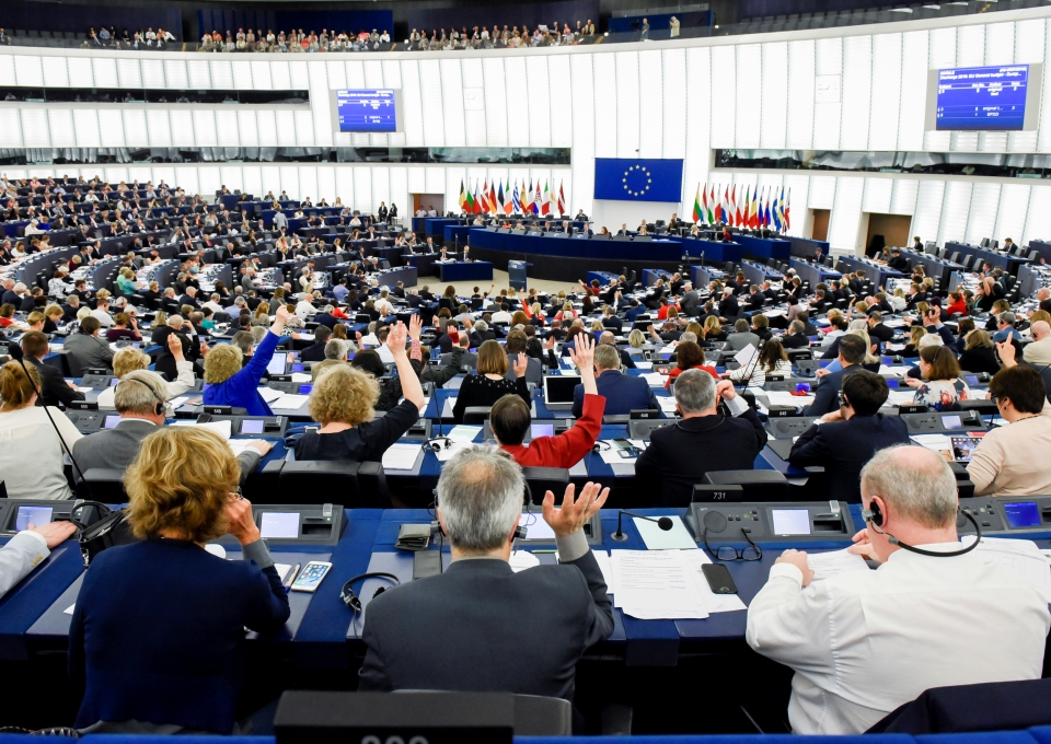 Stemming in Europees Parlement -  Foto: © European Union - Genevieve Engel