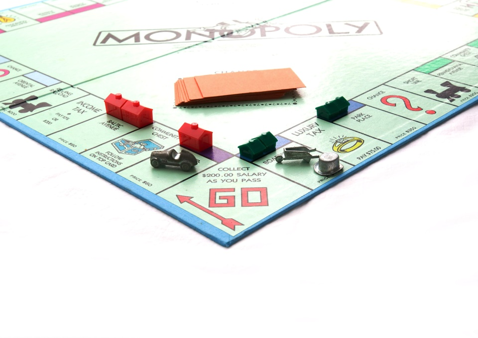 Spel Monopoly FreeImages