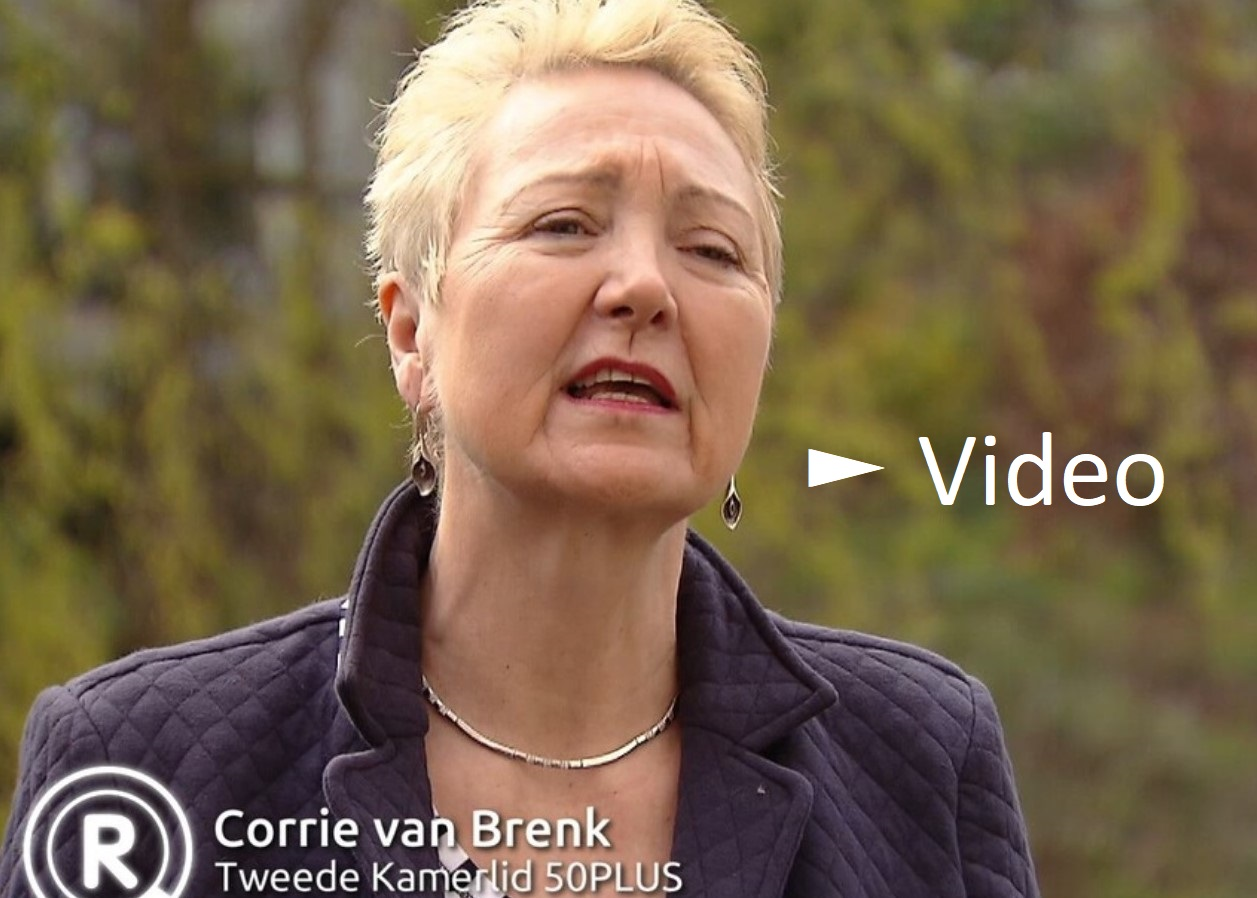 Video: Corrie van Brenk bij Radar